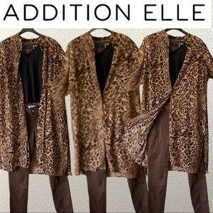 Tunic Style Leopard Top/Duster/Jacket/Dress